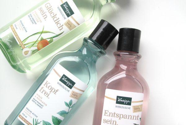 Kneipp Wirkduschen rPET Bottles Close-up