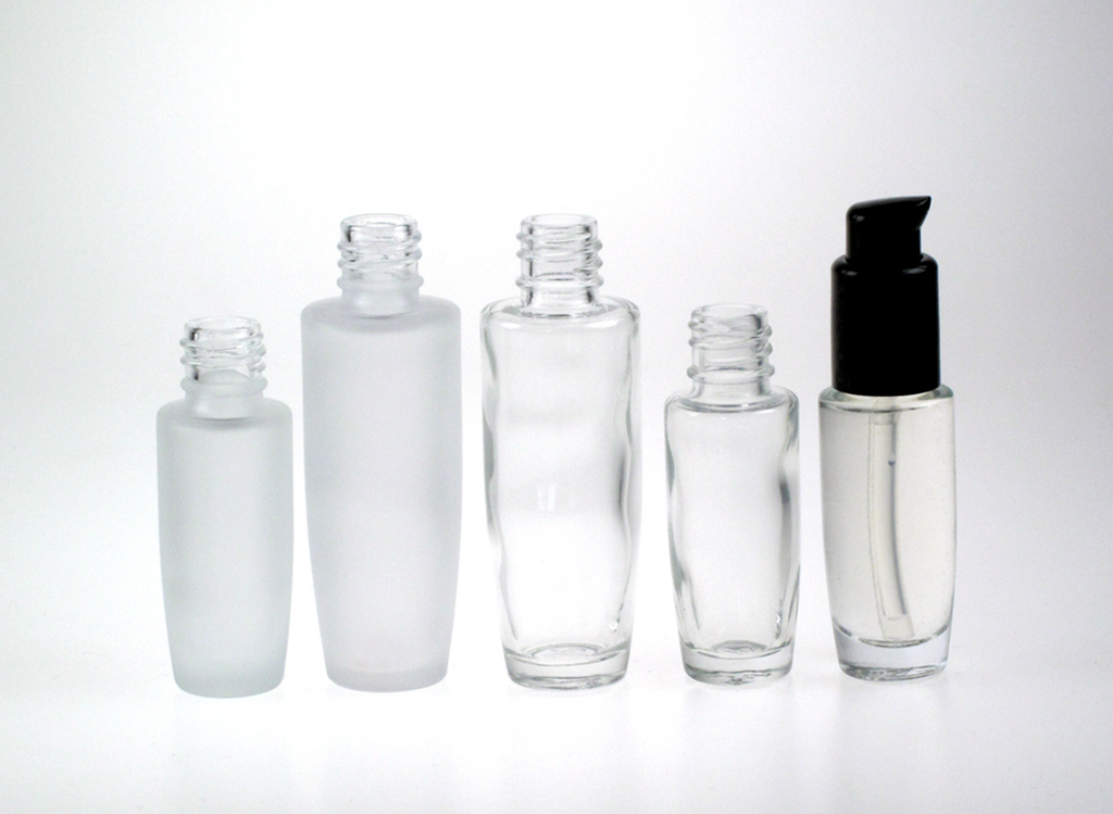 Lumina Glass Bottles in Stock
